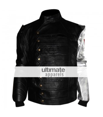 James Bucky Barnes Silver Arm Winter Soldier Jacket Vest