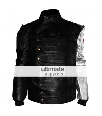 James Bucky Barnes Silver Arm Winter Soldier Jacket Vest