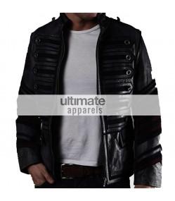 My Chemical Romance Rock Band Military Moto Black Jacket