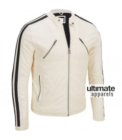 Need For Speed Aaron Paul (Tobey Marshall) White Jacket