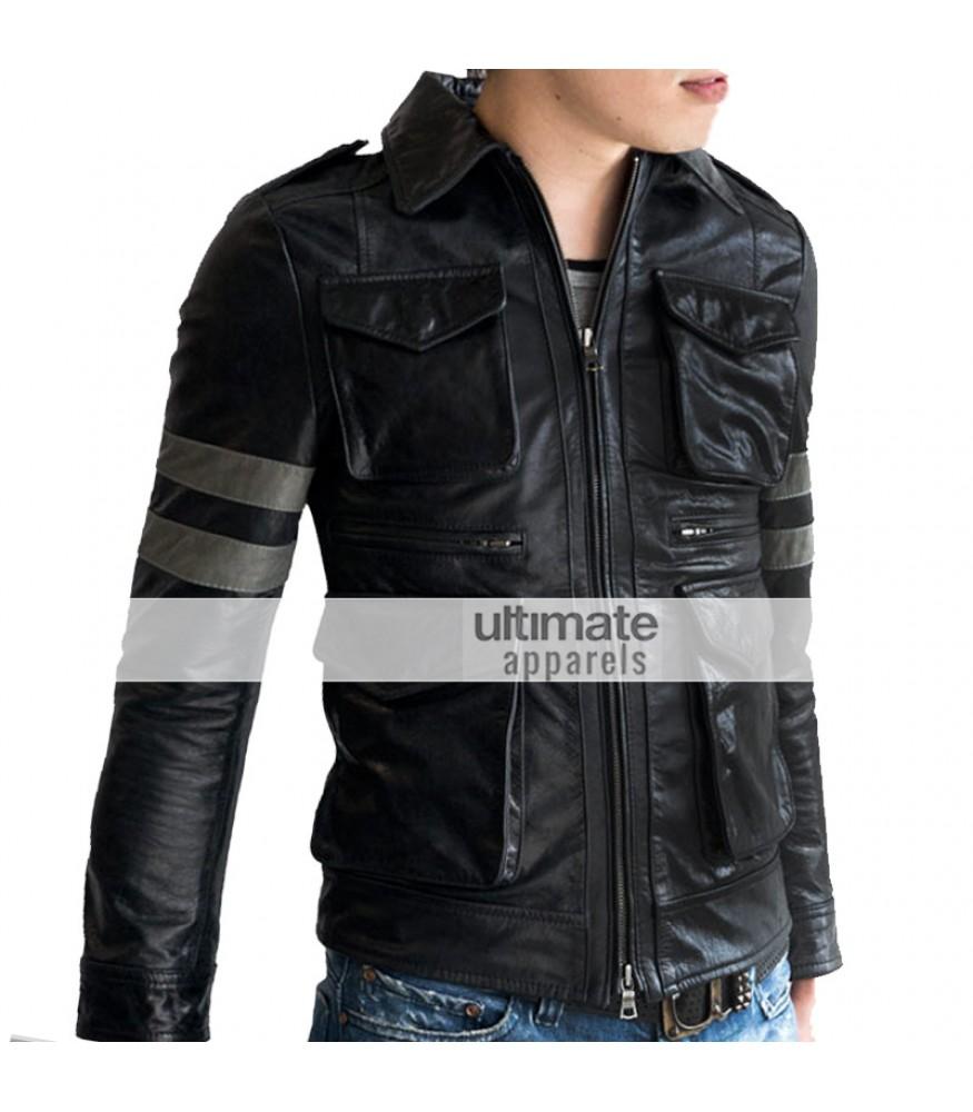 Resident Evil 6 Leon S Kennedy Black Replica Jacket