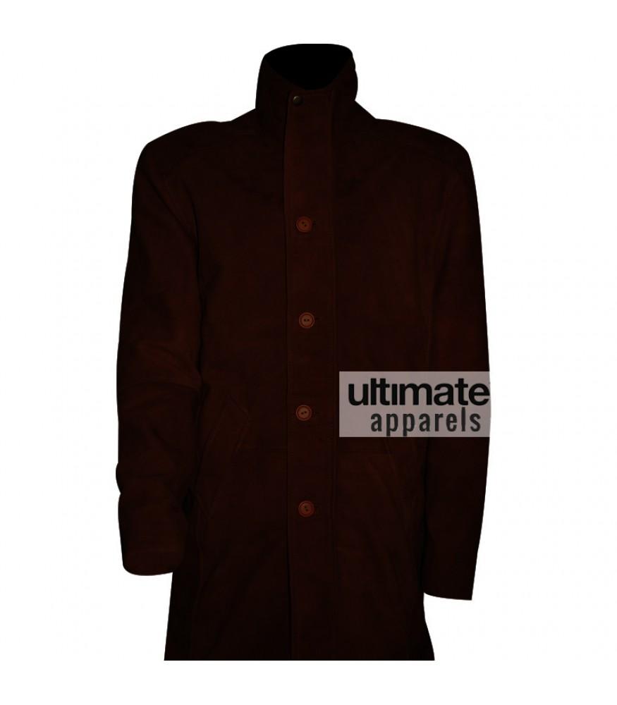 Sheriff Walt Longmire Brown Leather Coat Jacket