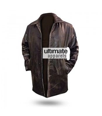 Supernatural Dean Winchester Distressed Brown/Black Jacket