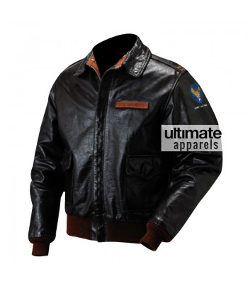 The Great Escape Steve McQueen Hilts Bomber Jacket