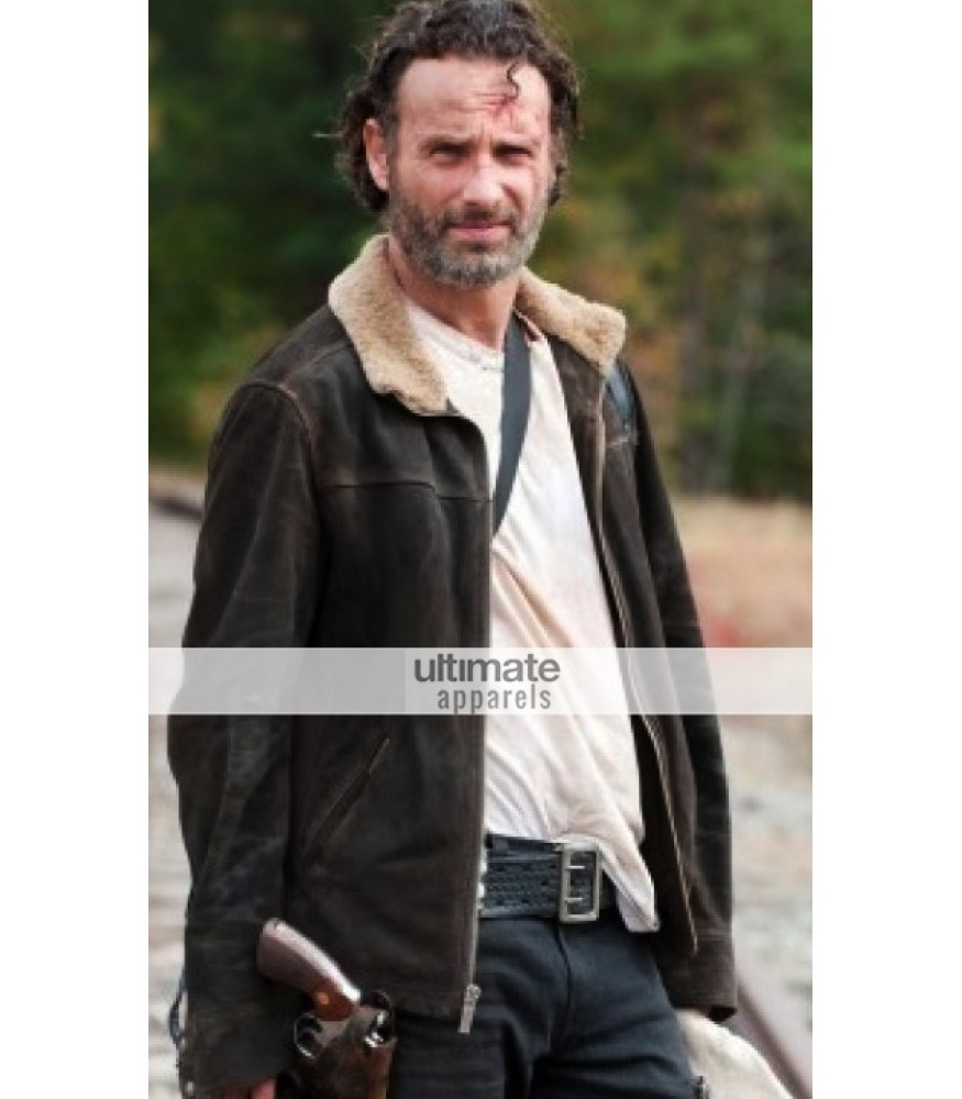 422cc9116 Walking Dead Leather Costumes Jackets