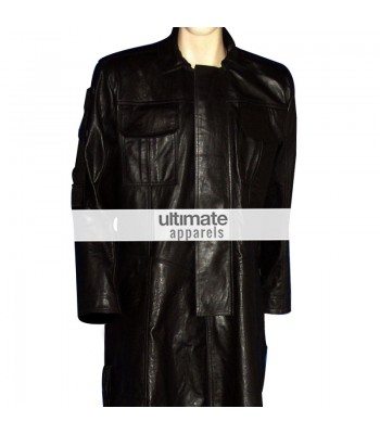 Punisher Movie Thomas Jane (Punisher) Black Trench Coat