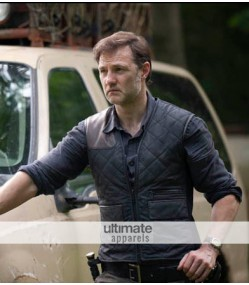 Walking Dead Governor Quilted Shooting Replica Vest