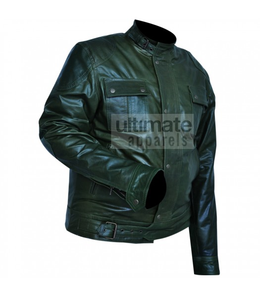 Wanted James McAvoy (Wesley Gibson) Green Jacket