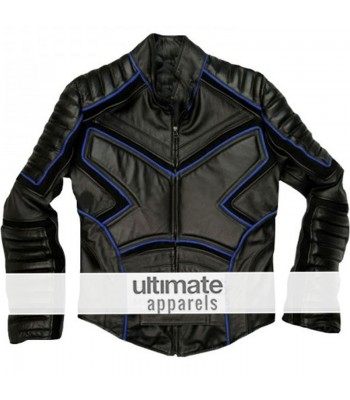 X-Men 2 Team Wolverine Iceman Black Jacket Costume