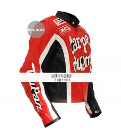 Torque Cary Ford Carpe Diem Riding Motorcycle Horse Jacket