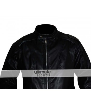 Z1r Marauder Motorcycle Black Leather Jacket