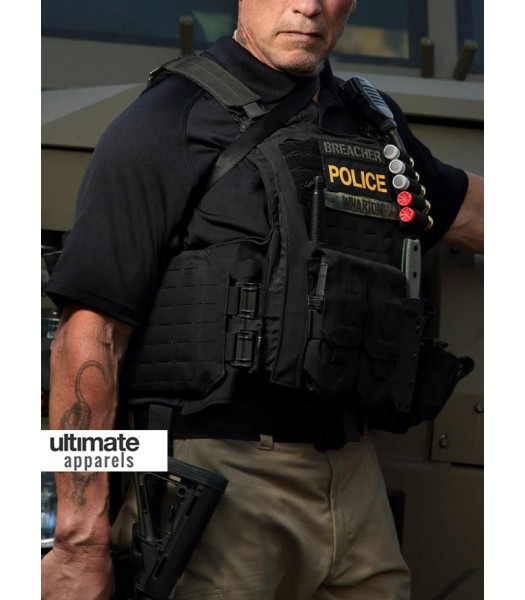 Sabotage Arnold Schwarzenegger John 'Breacher' Wharton Vest