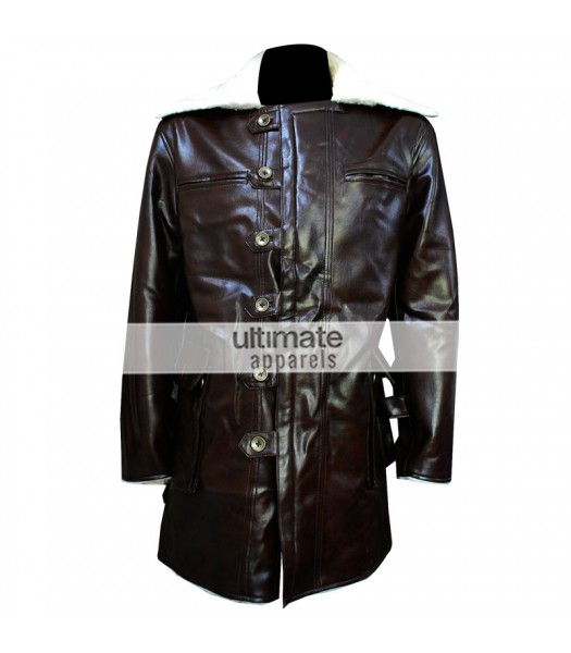 Dark Knight Rises Bane Faux Leather Jacket Costume