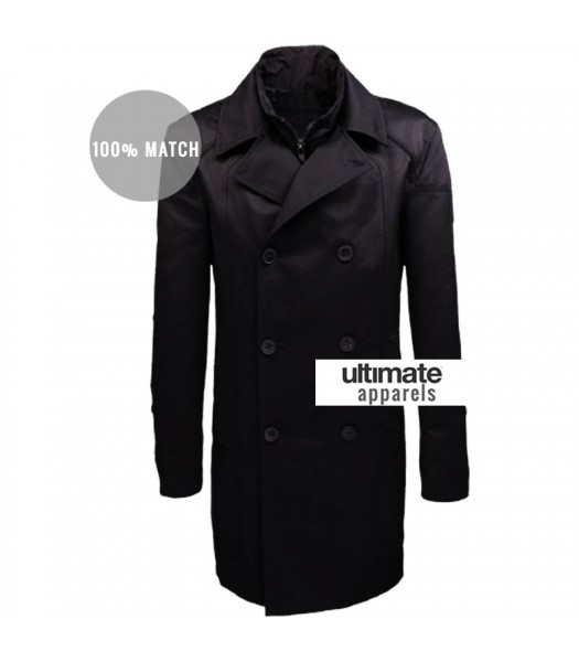 Deus Ex Human Revolution Game Adam Jensen Trench Coat