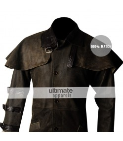 Hellboy Ron Perlman Trench Replica Jacket Costume