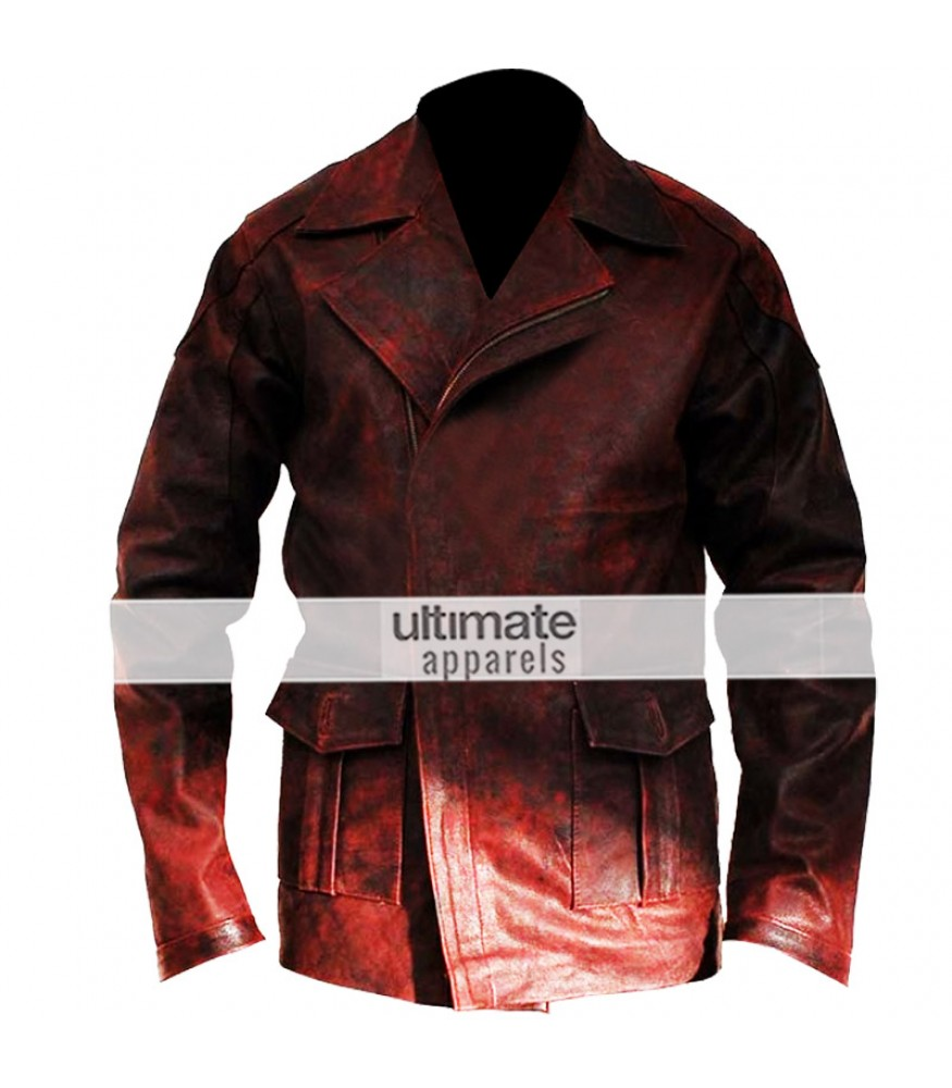 sc 1 st  Ultimate Apparels & I Robot Will Smith (Del Spooner) Distressed Red Jacket