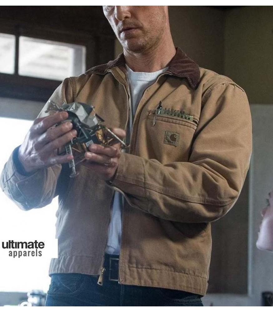 Interstellar Matthew Mcconaughey Cooper Jacket Clothing