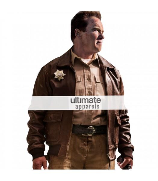 Last Stand Sheriff Arnold Schwarzenegger (Ray Owens) Jacket