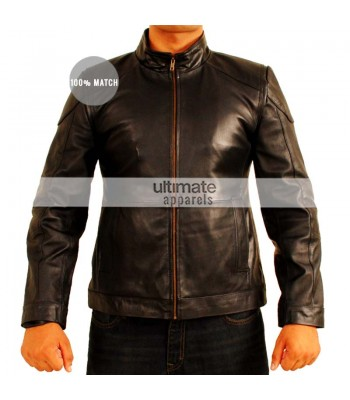 Red 2 Bruce Willis (Frank Moses) Black Men's Jacket