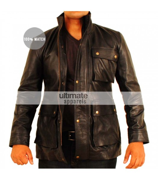 Star Trek Into Darkness Chris Pine (James T Kirk) Black Jacket