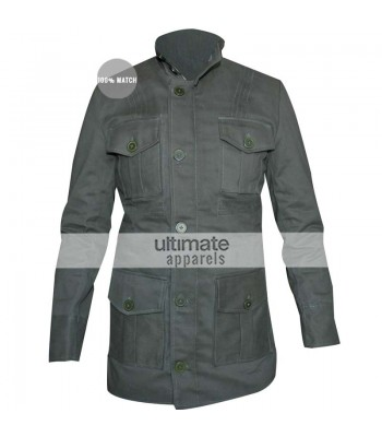 Supernatural Season 7 Dean Winchester Green Jacket