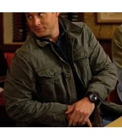 Supernatural Season 7 Dean Winchester Green Jacket