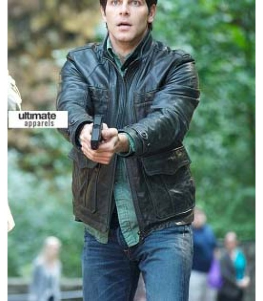 Grimm Nick Burkhardt (David Giuntoli) Black Jacket