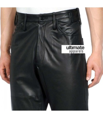 Men's Designers Loose Fit Faux Leather Pants