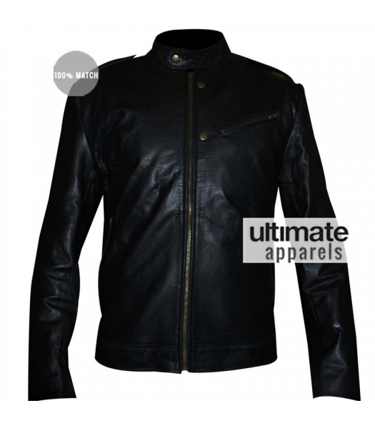 Chicago PD Jon Seda (Antonio Dawson) Black Jacket