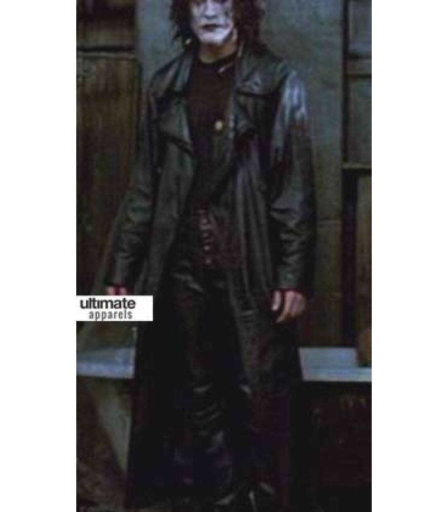 The Crow Eric Draven (Brandon Lee) Trench Coat Costume