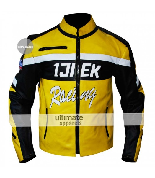 Dead Rising 2 Chuck Ijiek Greene Racing Yellow Hunting Jacket