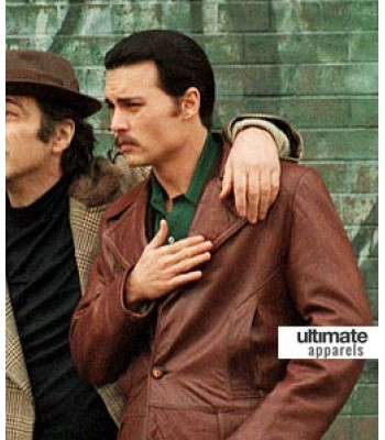 Donnie Brasco Johnny Depp (Joseph D. 'Joe' Pistone) Jacket
