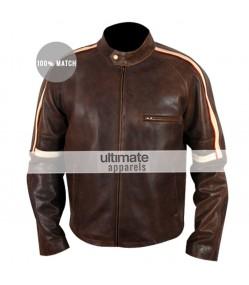Getaway Brent Magna (Ethan Hawke) Brown Leather Jacket