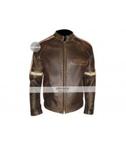 Hero Distressed Men Jacket Belstaff