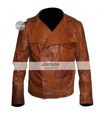 The Aviator Leonardo DiCaprio Flight Brown Replica Jacket