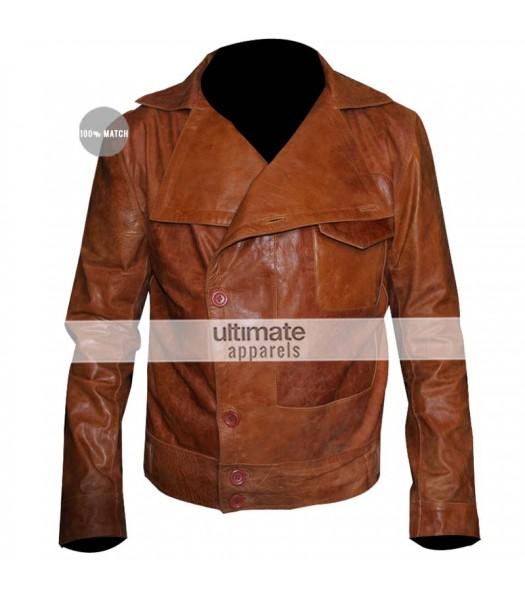The Aviator Leonardo DiCaprio Flight Brown Replica Jacket