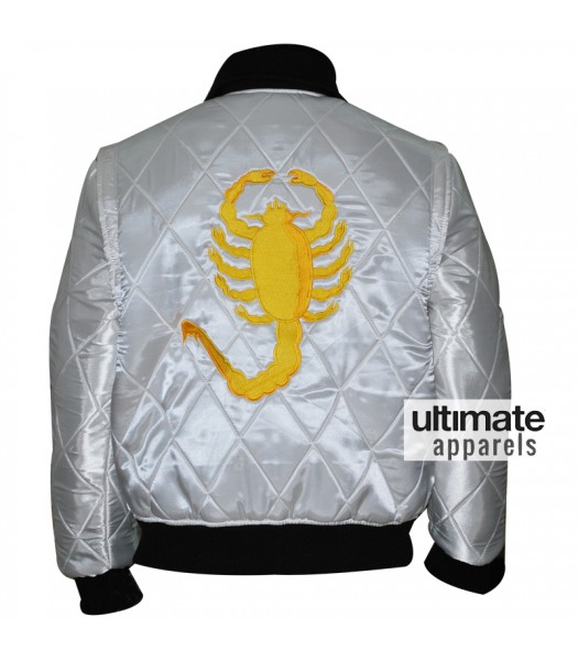 Drive Scorpion Ryan Gosling Satin Jacket