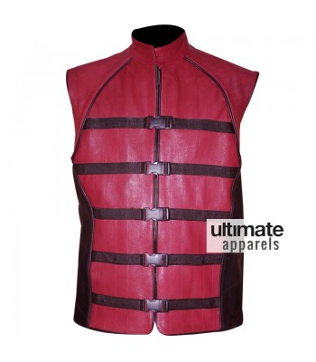 Farscape PeaceKeeper John Crichton Replica Leather Vest