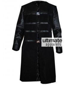 Farscape PeaceKeeper John Crichton Black Trench Coat Costume