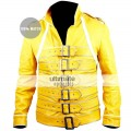 Yellow Leather Jacket & Apparels