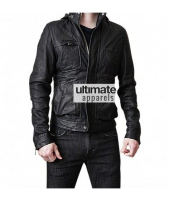Ghost Protocol Tom Cruise Mission Impossible Black Hooded Jacket