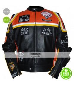 The Marlboro Man Movie Biker Leather Jacket