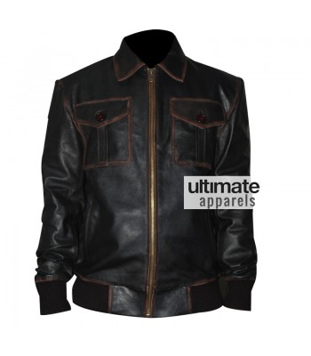 Once Upon A Time Sheriff Graham Black Bomber Jacket