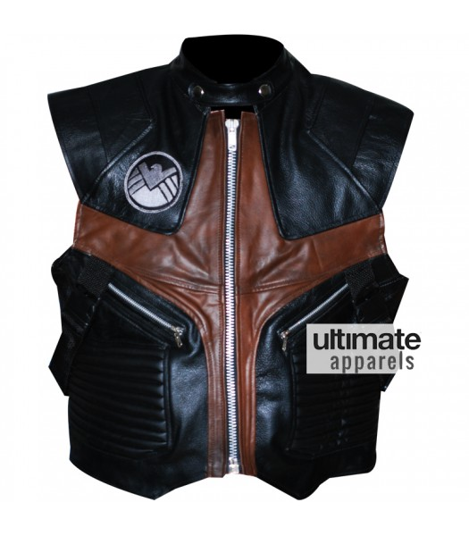 Jeremy Renner Avengers Hawkeye Leather Vest