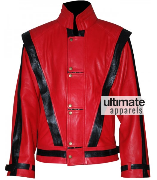 Replica Michael Jackson Thriller Red Costume Jacket