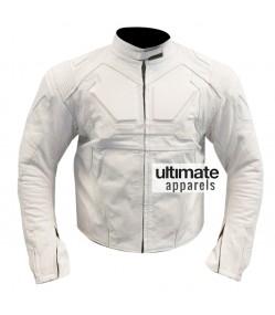 Oblivion Tom Cruise (Jack Harper) White Motorcycle Jacket