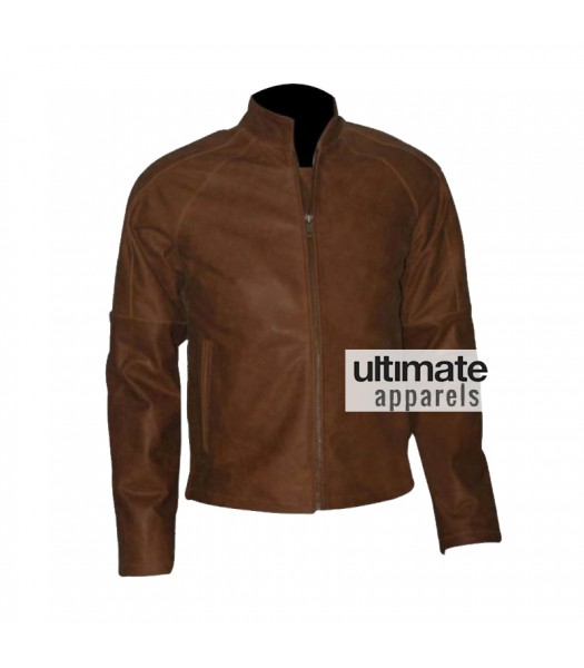Tom Cruise Jack Reacher Brown Distressed Jacket