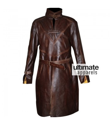 Watch Dogs Aiden Pearce Distressed Trench Costume Jacket