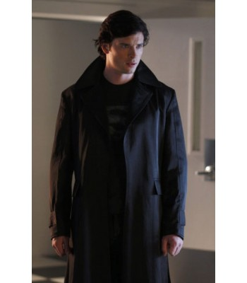 Smallville Superman Clark Kent Season 9 Coat/Costume