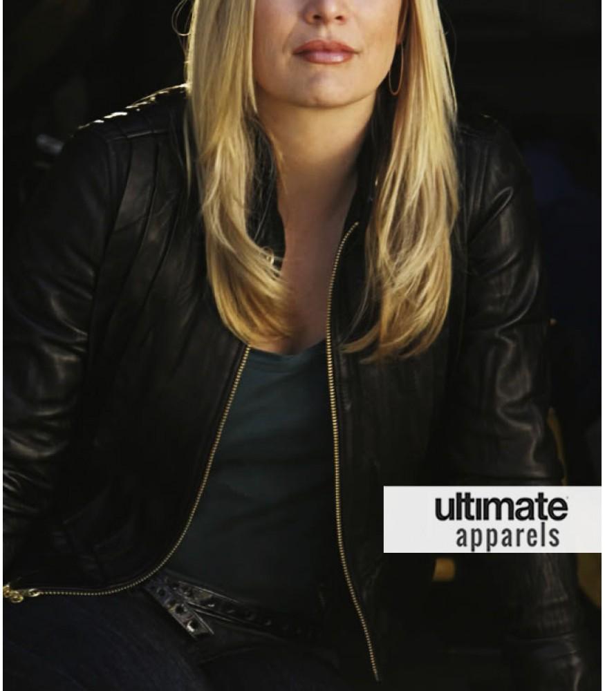 CSI Miami Emily Procter (Calleigh Duquesne) Black Jacket